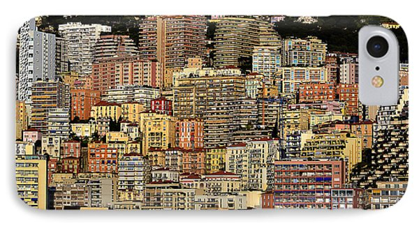 Cliff Dwellers Of Monte Carlo IPhone Case