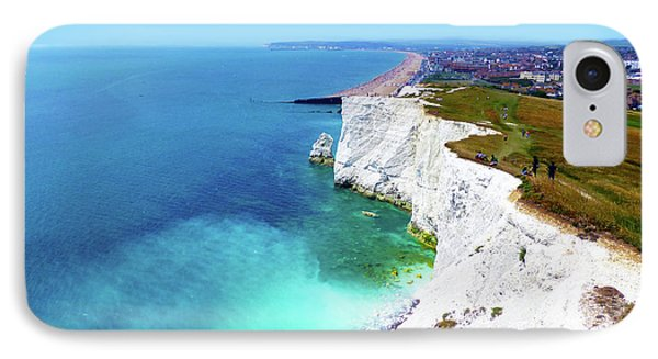 IPhone Case featuring the photograph Cliff Landscape by Francesca Mackenney