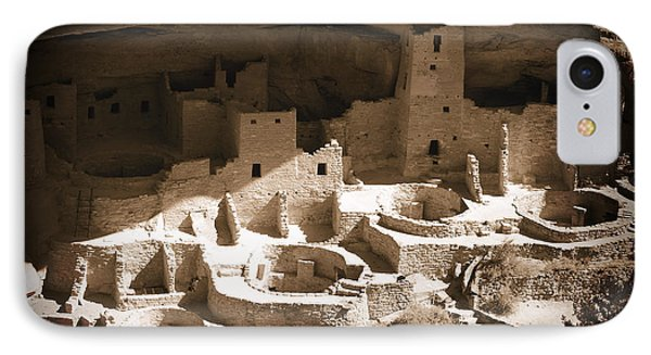 IPhone Case featuring the photograph Cliff Palace Mesa Verde by Kurt Van Wagner