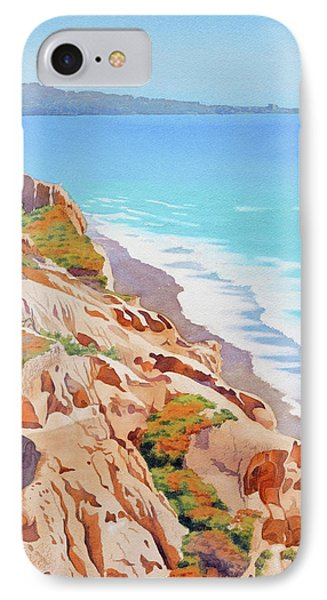 Cliffs At Torrey Pines 2016 IPhone Case