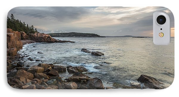 Cliffs Of Acadia IPhone Case
