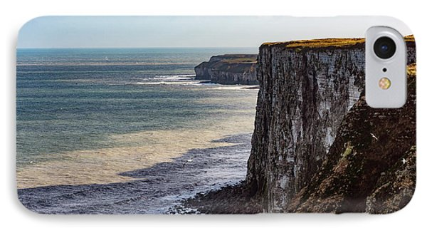 IPhone Case featuring the photograph Cliffs Of Bempton by Anthony Baatz