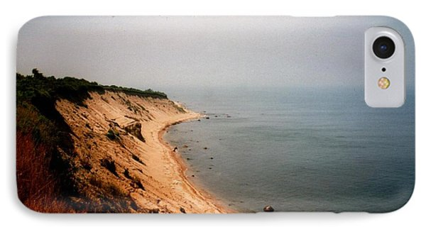 Cliffs Of Block Island IPhone Case by Robert Nickologianis