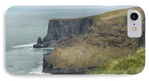 IPhone Case featuring the photograph Cliffs Of Moher 1 by Marie Leslie