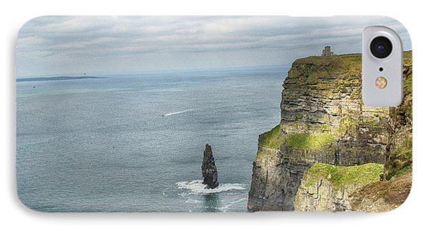 Cliffs Of Moher 3 IPhone Case by Marie Leslie
