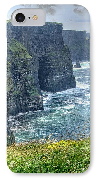 Cliffs Of Moher IPhone Case by Alan Toepfer