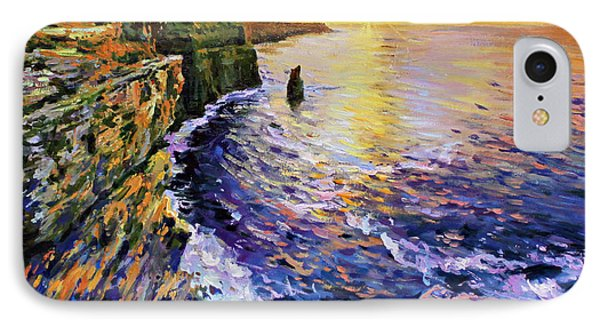 Cliffs Of Moher At Sunset Phone Case by Conor McGuire