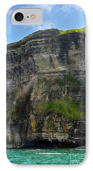 IPhone Case featuring the photograph Cliffs Of Moher From The Sea Close Up by RicardMN Photography