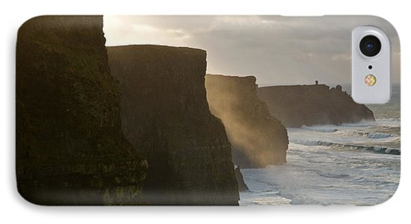 Cliffs Of Moher II IPhone Case by Louise Fahy