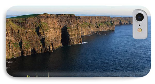 Cliffs Of Moher In Evening Light IPhone Case by Aidan Moran
