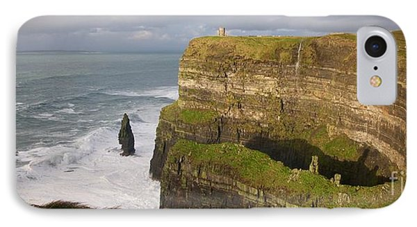 Cliffs Of Moher IPhone Case by Louise Fahy