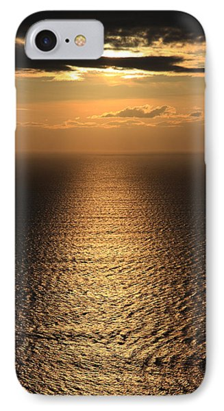 Cliffs Of Moher Sunset Co. Clare Ireland Phone Case by Pierre Leclerc Photography