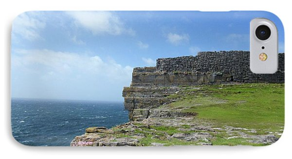 Cliffs Of The Aran Islands 3 IPhone Case by Crystal Rosene