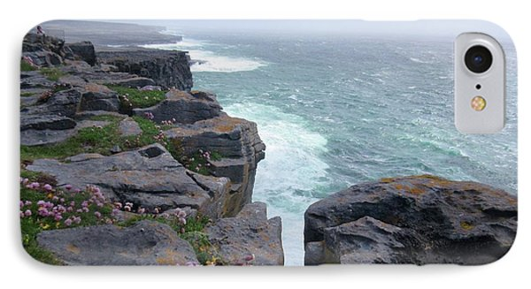 Cliffs Of The Aran Islands 4 IPhone Case by Crystal Rosene