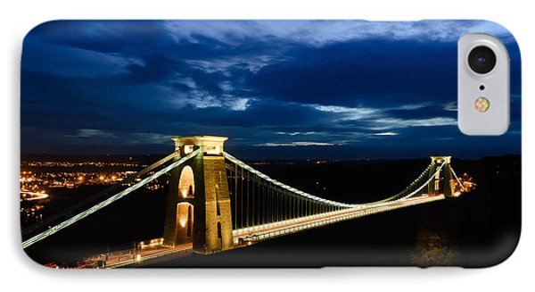 Clifton Suspension Bridge, Bristol. IPhone Case