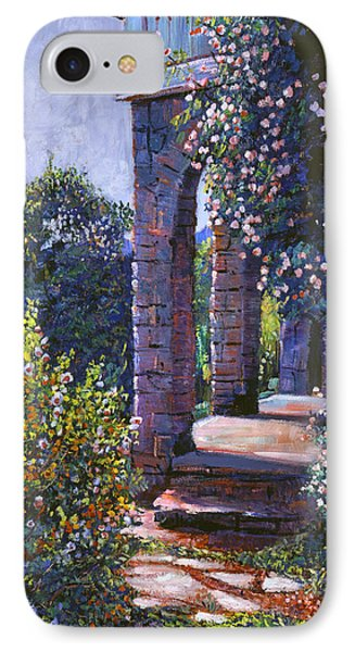 Climbing Roses IPhone Case by David Lloyd Glover