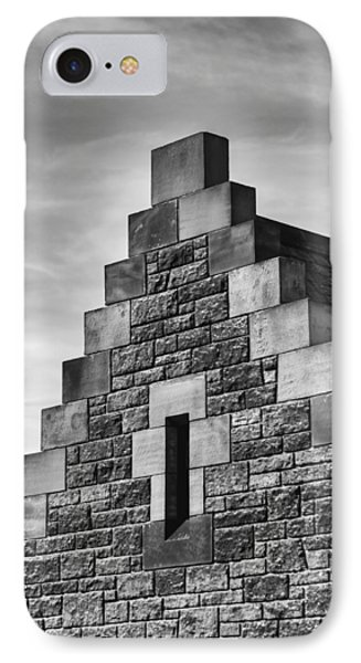 Climbing The Castle IPhone Case by Christi Kraft