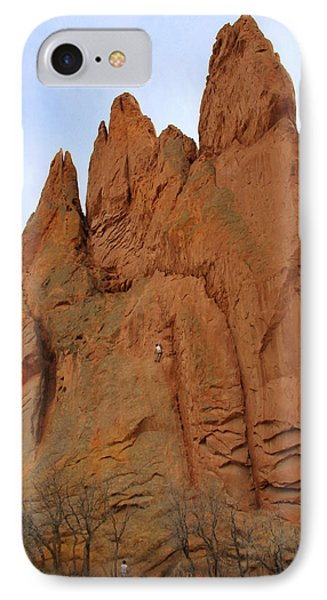 Climbing With The Gods Phone Case by Mike McGlothlen
