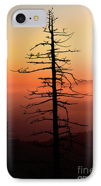 IPhone Case featuring the photograph Clingman's Dome Sunrise by Douglas Stucky