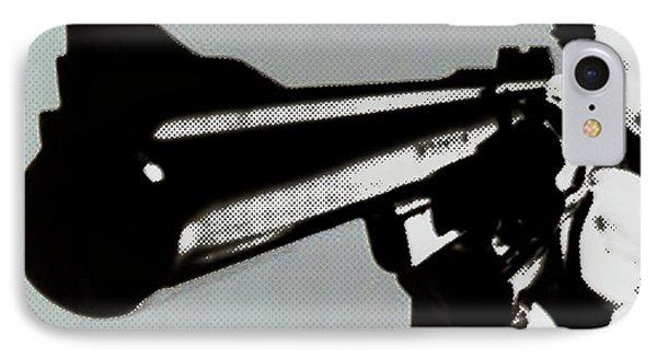 Clint Eastwood Big Gun IPhone Case by Tony Rubino