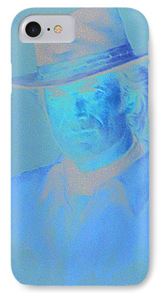 Clint Eastwood Phone Case by Charles Vernon Moran