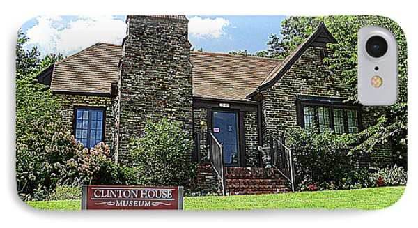 Clinton House Museum 1 IPhone 7 Case by Randall Weidner