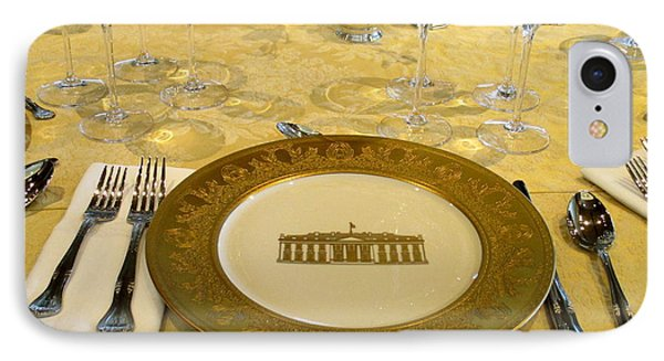 Clinton State Dinner 2 IPhone Case by Randall Weidner