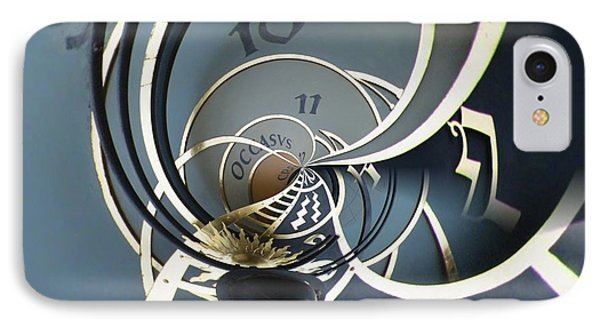 Clockface1  IPhone Case by Philip Openshaw