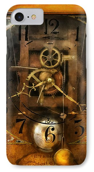 Clockmaker - A Sharp Looking Time Piece IPhone Case by Mike Savad