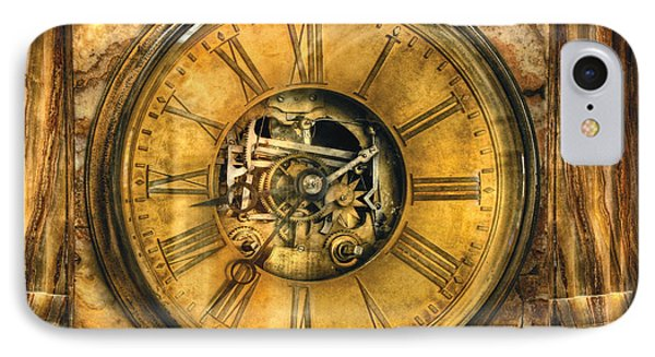 Clockmaker - Clock Works Phone Case by Mike Savad