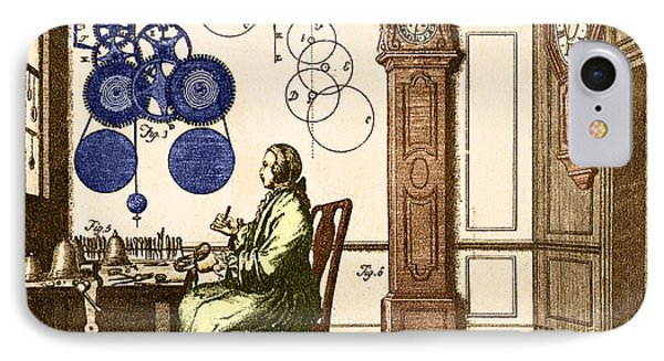 Clockmaker Phone Case by Photo Researchers
