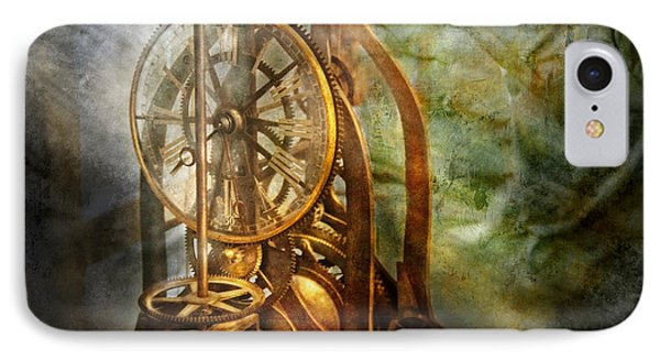 Clockmaker - The Day Time Stood Still  Phone Case by Mike Savad