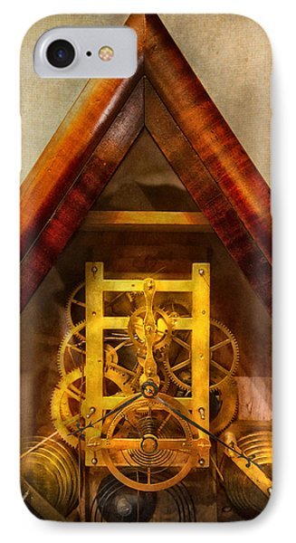 Clocksmith - Clockwork  Phone Case by Mike Savad