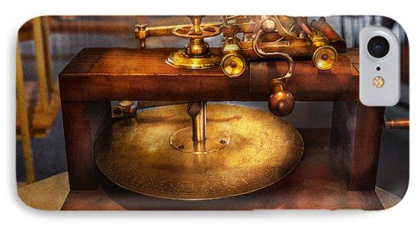 Clocksmith - The Gear Cutting Machine  Phone Case by Mike Savad