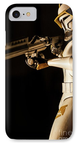 Clone Trooper 6  IPhone Case by Micah May