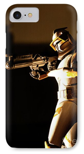 IPhone Case featuring the photograph Clone Trooper 7 by Micah May