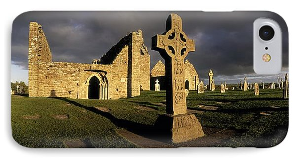Clonmacnoise Monastery, Co Offaly IPhone Case