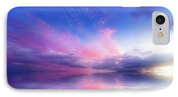 Close To Infinity IPhone Case by Philippe Sainte-Laudy