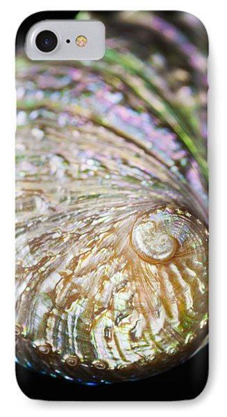 Close-up Of Abalone Shell IPhone Case by Bill Brennan - Printscapes