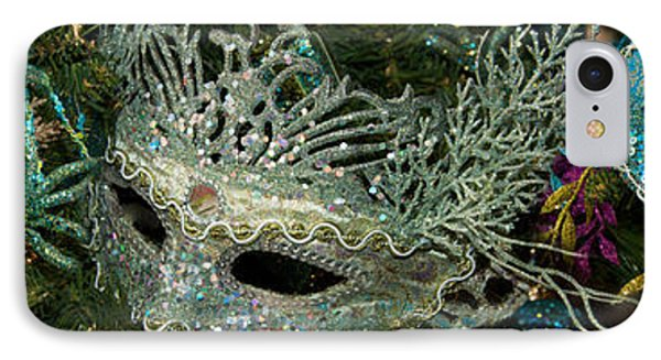 Close-up Of Venetian Masks IPhone Case