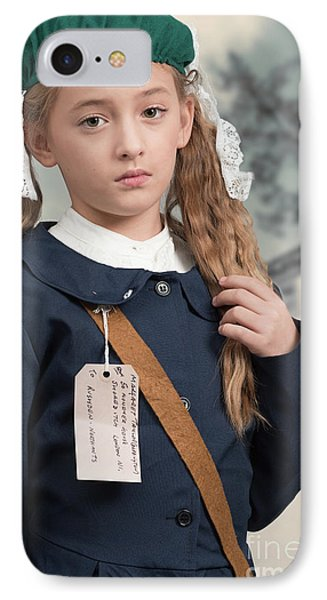 Close Up Of War Time Evacuee IPhone Case