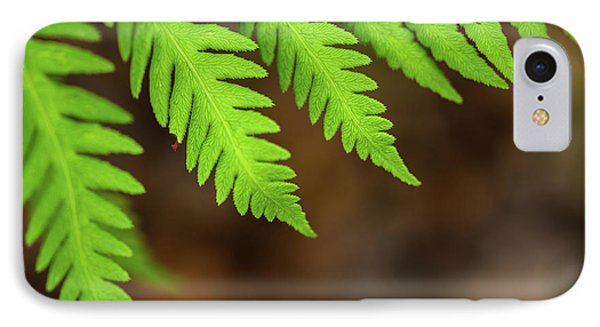 IPhone Case featuring the photograph Closeup Macro Of Green Leaves Show Textured Of The Organs With S by Jingjits Photography