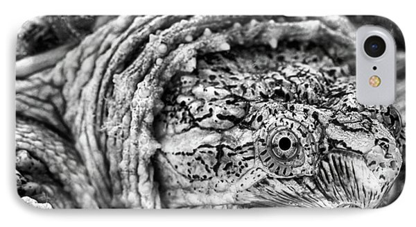IPhone 7 Case featuring the photograph Closeup Of A Snapping Turtle by JC Findley