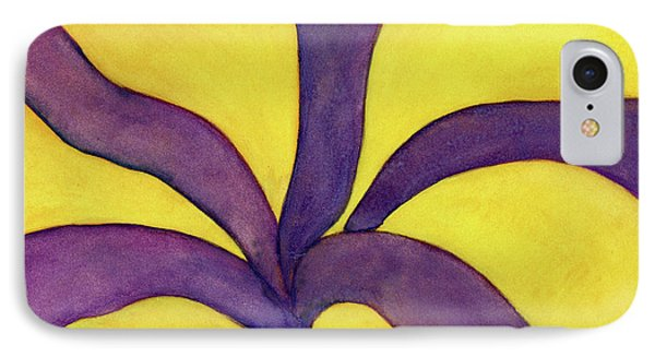 Closeup Of Yellow Rose IPhone Case by Versel Reid