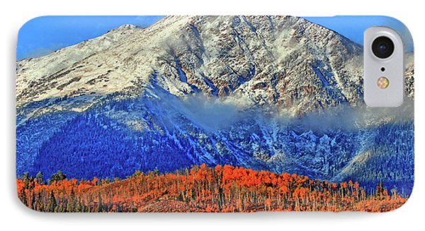 IPhone Case featuring the photograph Closing In On Fall by Scott Mahon