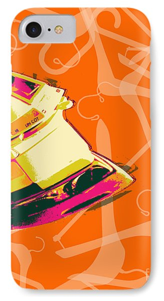 IPhone Case featuring the digital art Flat Iron  by Jean luc Comperat