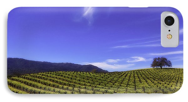 Cloud Above The Vineyards IPhone Case by Garry Gay