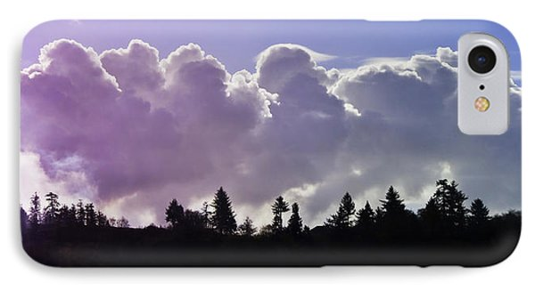 Cloud Express IPhone Case by Adria Trail