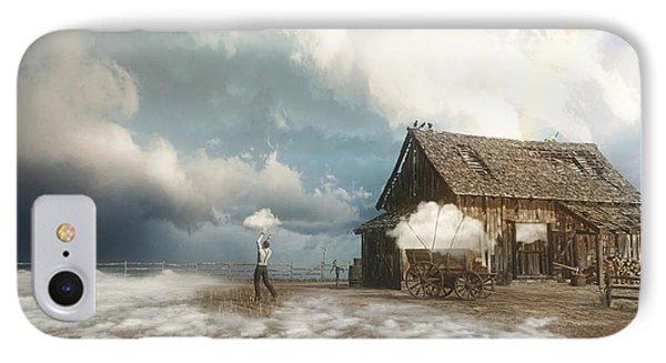 Finch iPhone 7 Case - Cloud Farm by Cynthia Decker