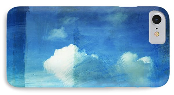 Cloud Painting Phone Case by Setsiri Silapasuwanchai
